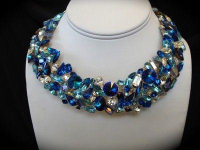 Blue Swarovski Jewelry
