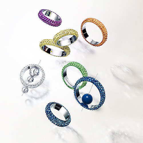 Swarovski Thread Ring