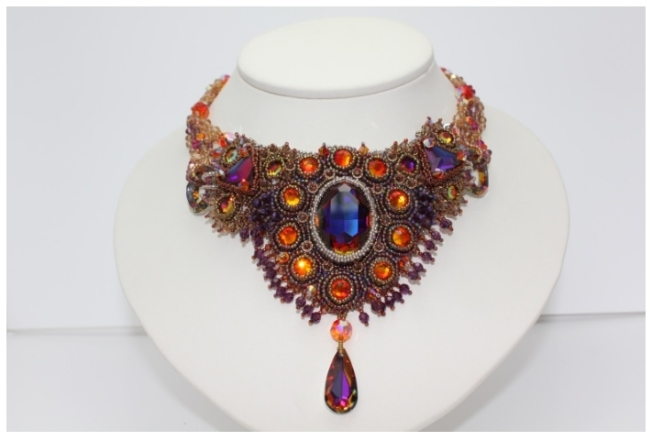 Swarovski Crystal Jewelry Volcano