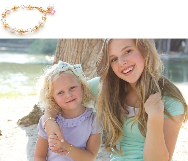 Tiny Blessings personalized jewelry made with Swarovski Crystal Elements for tweens and teens