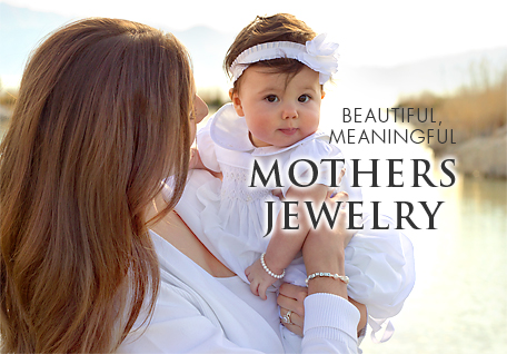 Tiny Blessings personalized jewelry made with Swarovski Crystal Elements mothers bracelets