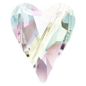 Swarovski Crystal Wild Heart Bead