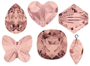 Swarovski Crystal Blush Rose New Color Spring Summer 2016 Innovations