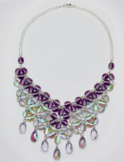 swarovski-crystal-necklace-design-and-instructions-bouquet-of-crystals
