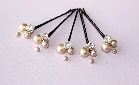 Swarovski Pearl Bridal Headpin accessories