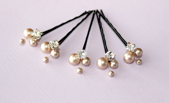 Swarovski Pearl Bridal Headpin accessories
