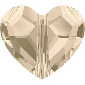 Swarovski Silk heart bead Wholesale to the Public