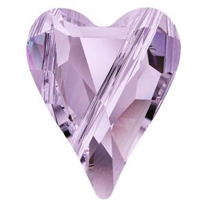 Swarovski Violet Heart