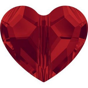 Swarovski_5741-Light_Siam Heart Bead