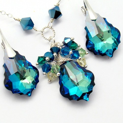 blue_jewelry_set_swarovski_baroque_crystal_bermuda_sterling_bridal