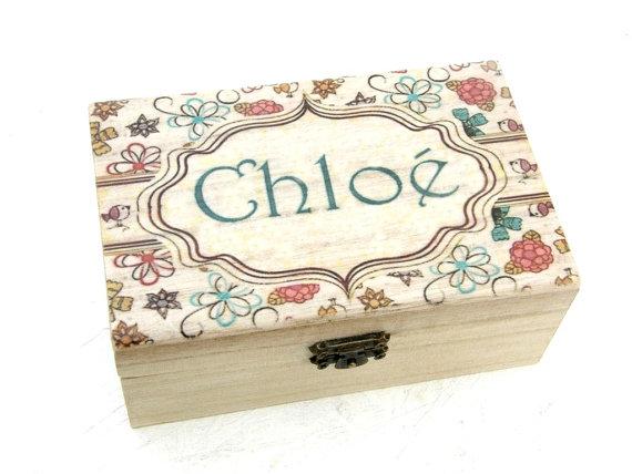 Personalized Gift or keep sake box