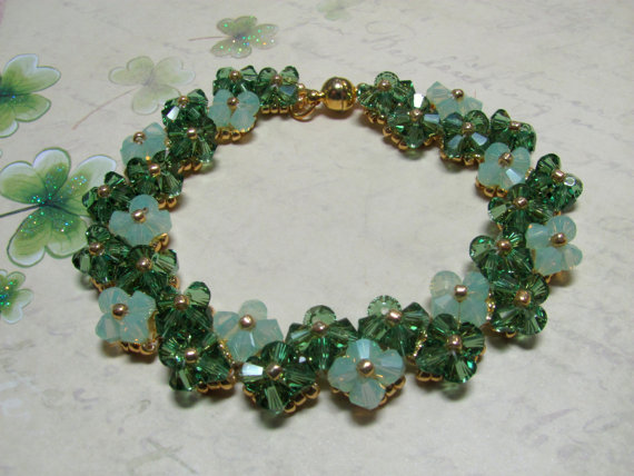 Swarovski Crystal St. Patricks Day Jewelry