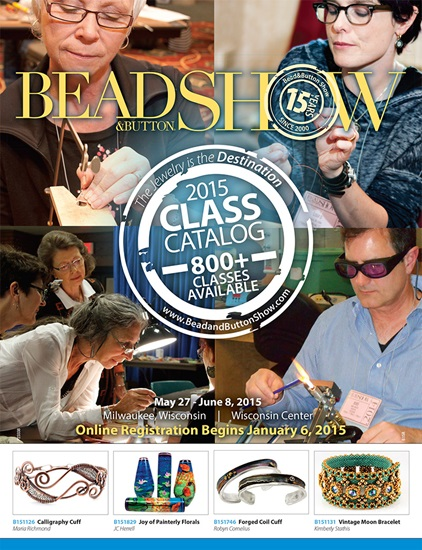 Bead and Button Show 2015