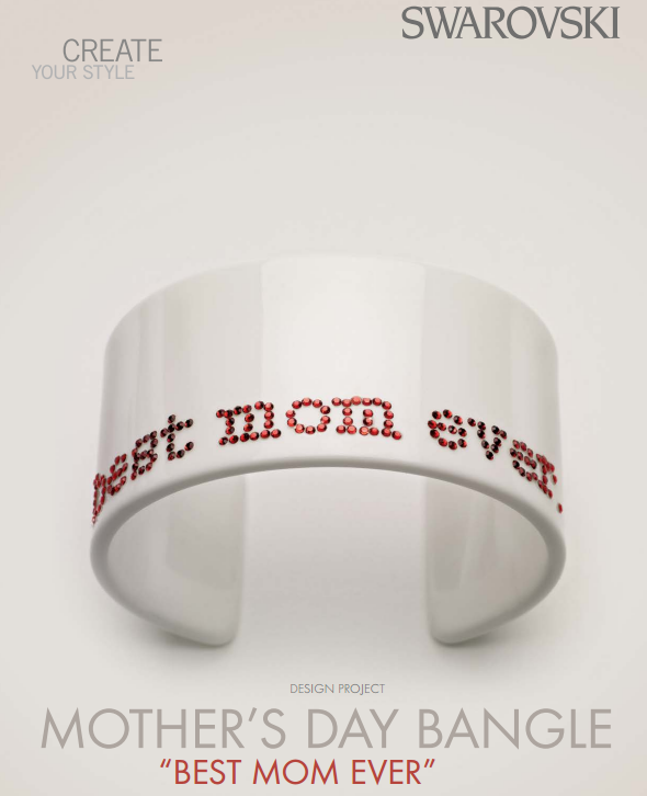 DIY Mothers day sparkling bracelet design inspiration