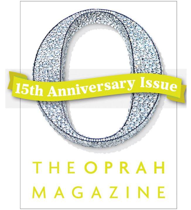 Opra Magazine 15th anniversary Swarovski Crystals