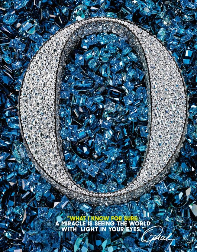 Opra Magazine 15th anniversary with Swarovski Crystals