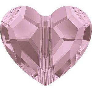 Swarovski_5741-Hear Bead Crystal_Antique_Pink