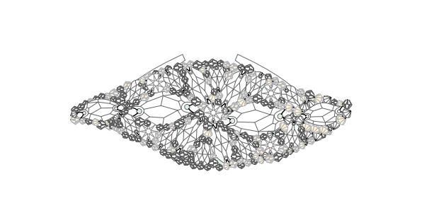 DIY Swarovski Crystal wedding Head Band Piece Step 4B
