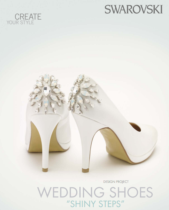 DIY Swarovski Crystal Wedding Shoes
