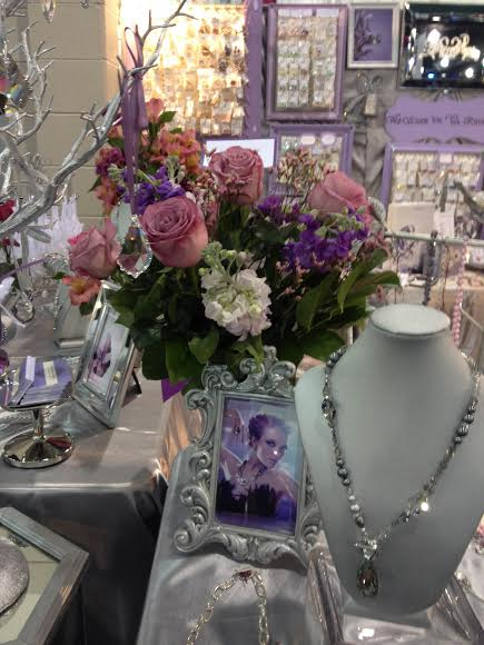 Bead and Button Trade Show 2015 Rainbows of Light Swarovski Crystals Flowers