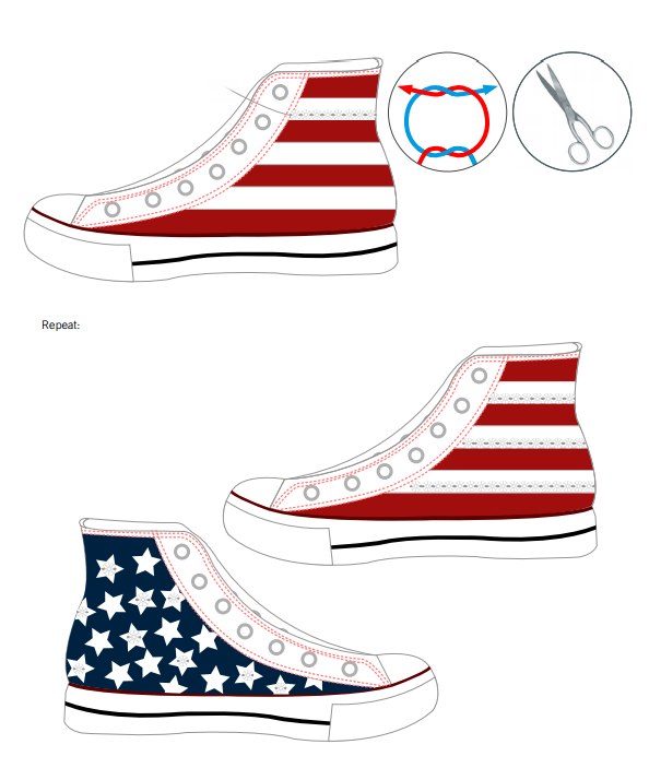 DIY Swarovski Crystal Chuck Taylor Shoes design and instructions page 5