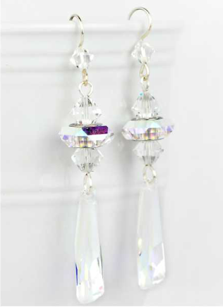 DIY Swarovski Crystal Earrings