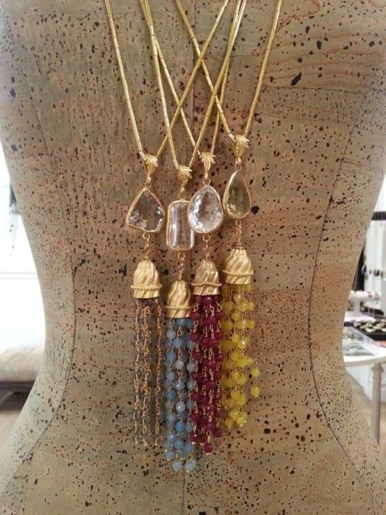 Stylish Beaded Tassel jewelry