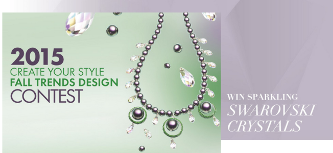 Swarovski Crystal 2015 Design Contest Win Crystals