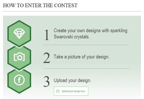 Swarovski Crystal 2015 Design Contest Win Swarovski Crystals Upload