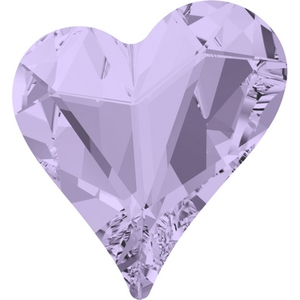 Swarovski Heart Fancy Stone 4809_Violet