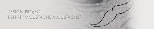 DIY Swarovski Crystal Moustache T- Shirt Design and Free Instructions