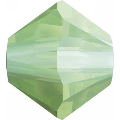 Swarovski Crystal Bicone Beads Chrysolite Opal