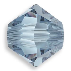 Swarovski Crystal Bicone Beads Denim Blue from Rainbows of Light