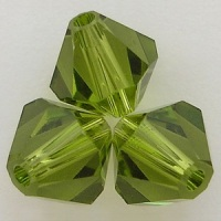 Swarovski Crystal Bicone Beads Olivine Fall Trend Colors 2015