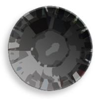 Swarovski Crystal Flat Back Hot Fix Jet Black Color