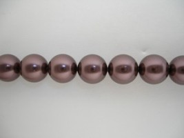Swarovski Crystal Pearls Burgundy