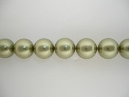 Swarovski Crystal Pearls Light Green