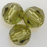 Swarovski Round Beads Khaki Fall Color Trends