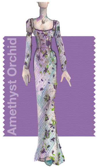 Amethyst Orchid Pantone Fall Fashion Color Trends 2015