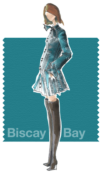 Biscay Bay Pantone Fall fashion Color Trends 2015