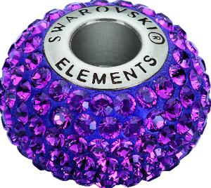 Swarovski BeCharmed Beads 80101_Amethyst