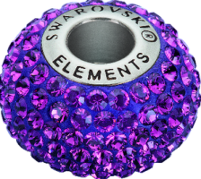Swarovski BeCharmed Beads 80101_Amethyst