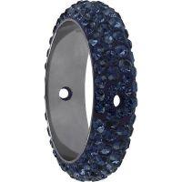 Swarovski Crystal 85001-Montana Ring Beads