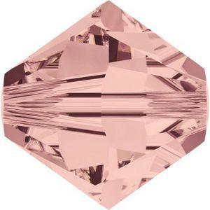 Swarovski Crystal Beads Blush Rose