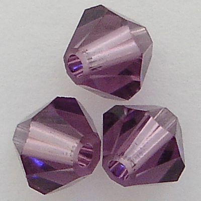 Swarovski Crystal Beads Lilac