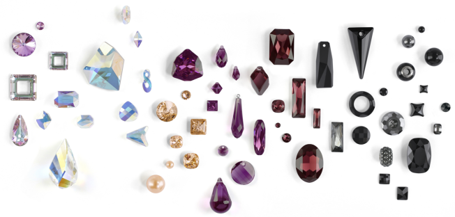 Swarovski Crystal Color Trends fall winter Classic