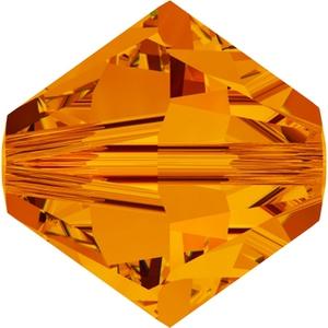 Swarovski_5328_BiconeBeads_Tangerine