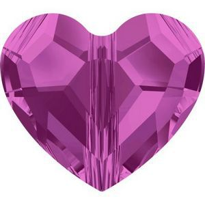 Swarovski_5741-Fuchsia Love bead