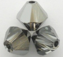Swarovski Crystal Beads 5328_Crystal_Silver_Night