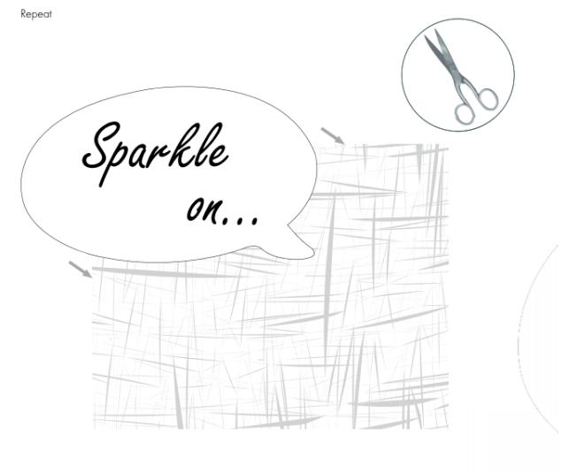 DIY Sparkle on shirt embellished with Swarovski Crystal Flatback Rhinestones jet black step by step instructions 3